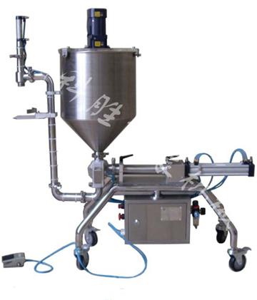 牛肉酱灌装机 豆辨酱灌装机 颗粒浆状灌装机