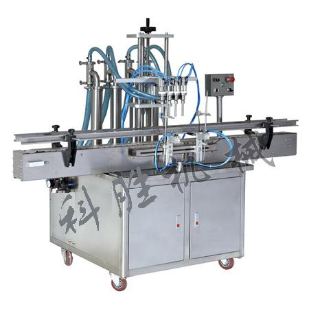 四头全自动液体灌装机|润滑油灌装机|调味品灌装机